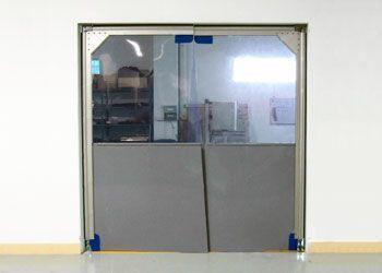 puerta de alto tráfico PVC