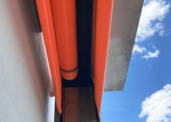 puerta frigorífica rápida con doble rollo PVC