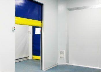 puerta de rollo rápido