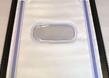 detalle lona PVC autorreparable