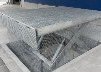mesa de tijera simple