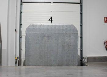 niveladores de andén de carga vertical
