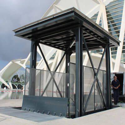 plataformas elevadoras industriales