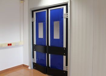 puerta alto tráfico flexible isotérmica