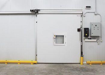 puerta corredera atmósfera controlada