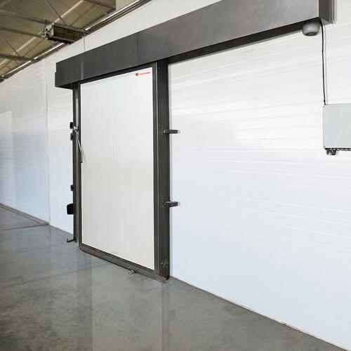puerta frigorífica contraincendios o cortafuegos
