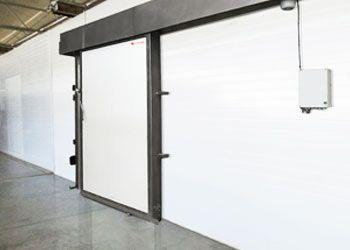 puerta corredera frigorífica cortafuegos