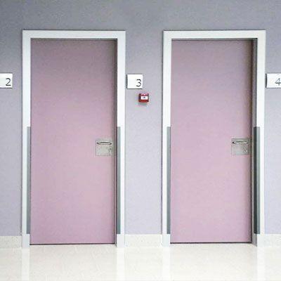 puertas sanitarias habitaciones de hospital