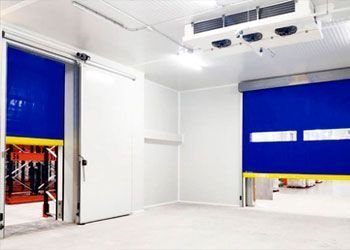 puertas de rollo rápido frigoríficas