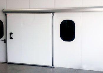 puerta industrial corredera