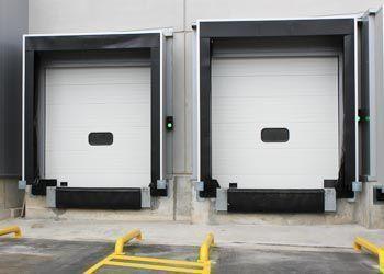puertas seccionales de andén