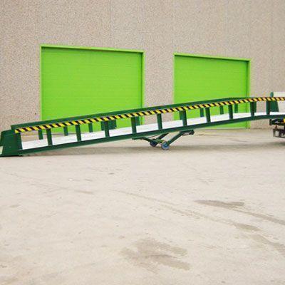 rampa transportable hidráulica