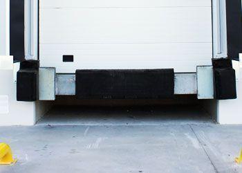 topes de protección para andén de carga